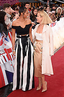 Alesha Dixon &amp; Amanda Holden at the Britain's Got Talent - London Auditions at the London Palladium, London, UK. <br /> 29th January  2017<br /> Picture: Steve Vas/Featureflash/SilverHub 0208 004 5359 sales@silverhubmedia.com