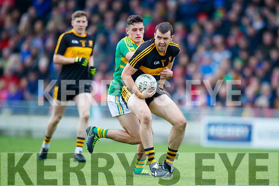 Michael Moloney  Dr Crokes in action against  South Kerry in the Senior County Football Final in Austin Stack Park on Sunday