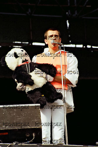 Peter Gabriel performing live at Knebworth Park in Hertfordshire UK - 09 Sep 1978.  Photo credit: Alan Perry/IconicPix