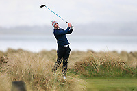 Alex Gleeson (Castle) during the SF round of matchplay at the 2018 West of Ireland, in Co Sligo Golf Club, Rosses Point, Sligo, Co Sligo, Ireland. 03/04/2018.<br /> Picture: Golffile | Fran Caffrey<br /> <br /> <br /> All photo usage must carry mandatory copyright credit (&copy; Golffile | Fran Caffrey)