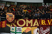 AS Roma fans <br /> Gand 27/02/2020 Ghelamco Arena <br /> Football Europa League 2019/2020 round of 32 2nd Leg KAA Gent - AS Roma <br /> Photo Gino Mancini / Insidefoto
