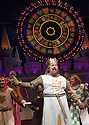 Monty Python's Spamalot a musical based on the film Monty Python and the Holy Grail. Book and Lyrics by Eric Idle. With Tim Curry as King Arthur .  Opens at the Palace  Theatre on 16/10/06 CREDIT Geraint Lewis