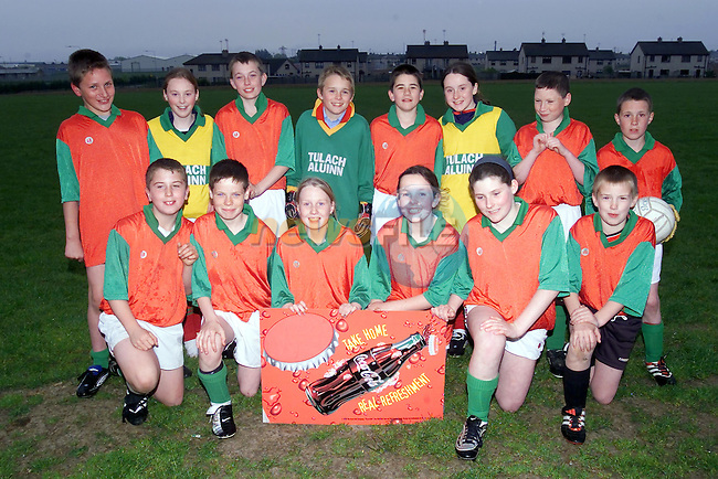 Tullyallen team in the Drogheda Concentrates sponsored Alter servers league..Picture Fran Caffrey Newsfile...This Picture is sent to you by:..Newsfile Ltd.The View, Millmount Abbey, Drogheda, Co Louth, Ireland..Tel: +353419871240.Fax: +353419871260.GSM: +353862500958.ISDN: +353419871010.email: pictures@newsfile.ie.www.newsfile.ie