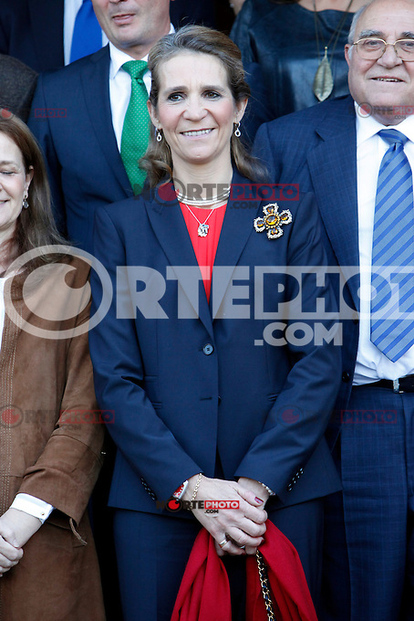 Pricess Elena of Spain attends the 'VII Universidad Empresa' awards in Madrid. November 22, 2012. (ALTERPHOTOS/Caro Marin) /NortePhoto