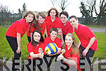 Students from Mean Scoil an Leith Triuigh, Castlegregory came second in the national Spikeball competition. Pictured from front l-r were: Kayla O'Neill, Brian Dowling and Marie McCarthy. Back l-r were: Muireann Casey, Jimmy O'Grady, Muireann Tuffrey, Mikey Lyne and Nathan Griffin.