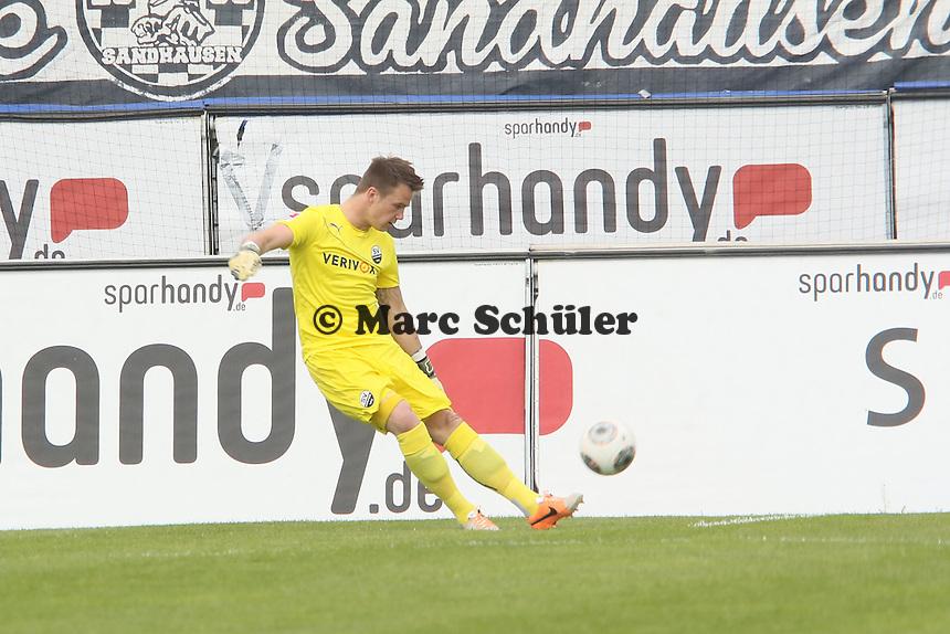 Manuel Riemann (SVS)- FSV Frankfurt vs. SV Sandhausen, Frankfurter Volksbank Stadion