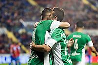 Real Betis Balompie's Joaquin and Ruben Castro during La Liga match. November 27, 2015. (ALTERPHOTOS/Javier Comos)