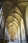 Cloister, Cathedral, Pamplona, Navarra, Spain
