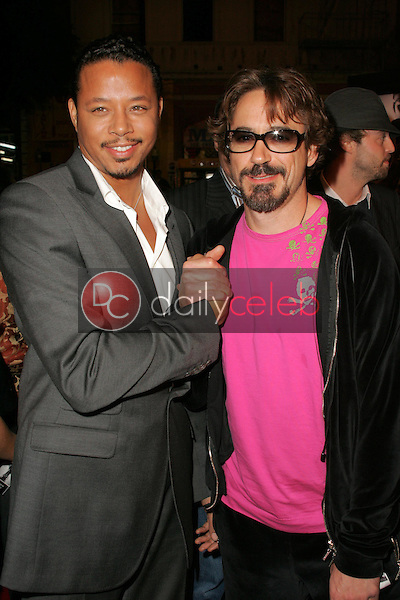 Terrence Howard and Robert Downey Jr<br />