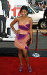 """HOLLYWOOD, CA. - April 14: Tiya Sircar arrives at the premiere of Warner Bros. """"17 Again"""" held at Grauman's Chinese Theatre on April 14, 2009 in Hollywood, California."""