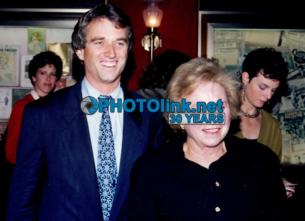 Robert Kennedy Jr & Ethel Kennedy 1993<br /> Photo By John Barrett-PHOTOlink.net