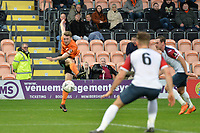 Jack Taylor Of Barnet shoots during Barnet vs Stockport County, Emirates FA Cup Football at the Hive Stadium on 2nd December 2018