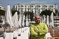 Europe/France/Provence-Alpes-Côte d'Azur/06/Alpes-Maritimes/Cannes:  Restaurant de Plage: La Plage Z à l'Hôtel Martinez - le chef Christian Sinicropi [Non destiné à un usage publicitaire - Not intended for an advertising use]