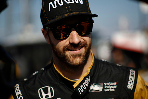 20-21 August, 2016, Long Pond, Pennsylvania USA<br /> James Hinchcliffe<br /> ©2016, Michael L. Levitt<br /> LAT Photo USA