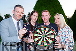 Adrian O'Sullivan, Angela Buckley, Danny Broderick and Emma Cooper who have organised Darts payer Gary Anderson Sports memorabilia auction and raffle in aid of the Ian O'Connell Trust fund which will be held in the Gleneagle Hotel on Saturday 15th September