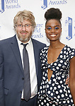 Dave Malloy and Denee Benton attends the 73rd Annual Theatre World Awards at The Imperial Theatre on June 5, 2017 in New York City.