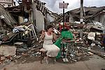 Earthquake damage in Columbia.
