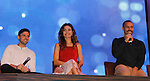 Joyce Becker's Soap Opera Festival brings actors from Young and Restless - Robert Adamson - Amelia Heinle - Bryton James  on stage on September 26, 2015 to Caesers Horseshoe Casino in Baltimore, Maryland for a Q&A with fans with a drawing for lucky fans to meet the actors for autographs and photos.  (Photo by Sue Coflin/Max Photos)