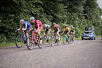 With 2 local laps to go, the final breakaway is formed cosisting of: (eventual winner) Jos&eacute; Gon&ccedil;alves (POR/Katusha-Alpecin), Laurens De Plus (BEL/QuickStep Floors), Pim Ligthart (NED/Roompot-Nederlandse Loterij), Laurens ten Dam (NED/Sunweb) &amp; GC leader Primoz Roglic (SVK/LottoNL-Jumbo) + 2<br /> <br /> Ster ZLM Tour (2.1)<br /> Stage 4: Hotel Verviers &gt; La Gileppe (Jalhay)(190km)