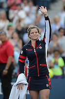August 29, 2012: Kim Clijsters Vs Ura Robson  at Arthur Ashe stadium at the USTA Billie Jean King National Tennis Center in New York City. © mpi04 / Mediapunchinc /NortePhoto.com<br />