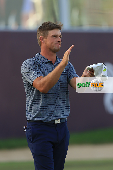 Bryson Dechambeau (USA) wins the Omega Dubai Desert Classic, Emirates Golf Club, Dubai,  United Arab Emirates. 27/01/2019<br /> Picture: Golffile | Thos Caffrey<br /> <br /> <br /> All photo usage must carry mandatory copyright credit (© Golffile | Thos Caffrey)