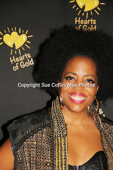 Another World Rhonda Ross - Hearts of Gold annual All That Glitters Gala - 24 years of support to New York City's homeless mothers and their children - (VIP Reception - Silent Auction) was held on November 7, 2018 at Noir et Blanc and the 40/40 Club in New York City, New York.  (Photo by Sue Coflin/Max Photo)
