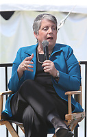 LOS ANGELES, CA -APRIL 14: Janet Napolitano, at 2019 Los Angeles Times Festival Of Books Day 2 at University of Southern California in Los Angeles, California on April 14, 2019.<br /> CAP/MPI/FS<br /> ©FS/MPI/Capital Pictures