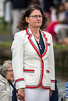 Henley Royal Regatta, Henley on Thames, Oxfordshire, 28 June - 2 July 2017.  Wednesday  15:28:35   28/06/2017  [Mandatory Credit/Intersport Images]<br /> <br /> Rowing, Henley Reach, Henley Royal Regatta.<br /> <br /> Miss G Batten, Umpire