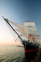 The Star of India is the world's oldest active ship, Maritime Museum of San Diego, California