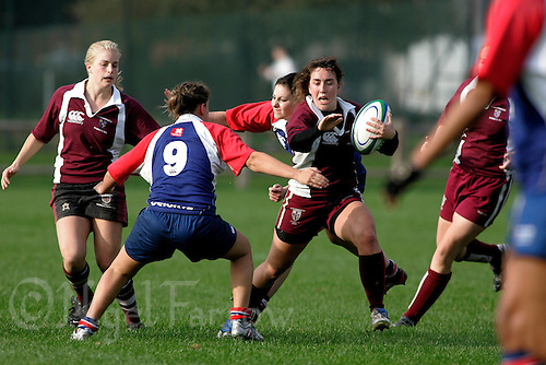 18 OCT 2006 -LOUGHBOROUGH, GBR - Loughborough University v Newcastle University (PHOTO (C) NIGEL FARROW)