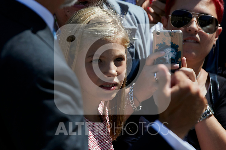 Princess Sofia of Spain visit Covadonga, Spain. September 08, 2018. (ALTERPHOTOS/A. Perez Meca)