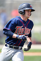 March 18, 2010:  Catcher Daniel Rohlfing (40) of the Minnesota Twins organization during Spring Training at the Ft. Myers Training Complex in Ft. Myers, FL.  Photo By Mike Janes/Four Seam Images
