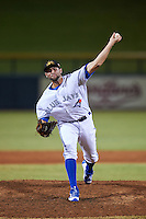 Mesa Solar Sox pitcher Tim Mayza (35), of the Toronto Blue Jays organization, during a game against the Salt River Rafters on October 22, 2016 at Sloan Park in Mesa, Arizona.  Salt River defeated Mesa 7-2.  (Mike Janes/Four Seam Images)