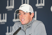 Rory McIlroy (NIR) during the Media Interviews before the 2014 Alfred Dunhill Links Championship, The Old Course, St Andrews, Fife, Scotland. Picture:  David Lloyd / www.golffile.ie