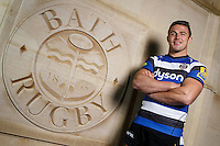 Recent signing Sam Burgess of Bath Rugby poses during a portrait session on November 25, 2014 at Farleigh House in Bath, England. Photo by: Rogan Thomson for Onside Images