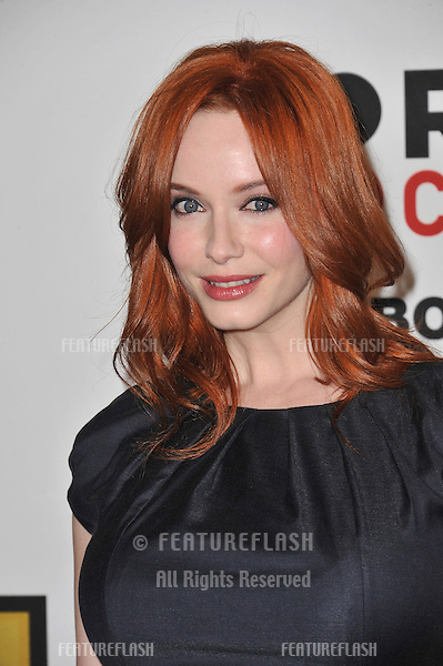 Christina Hendricks at the inaugural Critics' Choice Television Awards, presented by the Broadcast Television Journalists Association, at the Beverly Hills Hotel..June 20, 2011  Beverly Hills, CA.Picture: Paul Smith / Featureflash