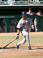 Brian Bogusevic / Scottsdale Scorpions 2008 Arizona Fall League..Photo by:  Bill Mitchell/Four Seam Images