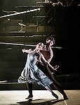 """English National Ballet. """"Lest We Forget"""" programme. """"No Man's Land"""". Choreography by Liam Scarlett."""