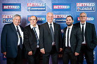 Picture by Allan McKenzie/SWpix.com - 25/09/2018 - Rugby League - Betfred Championship & League 1 Awards Dinner 2018 - The Principal Manchester- Manchester, England - Red carpet, Toulouse, Cedric Garcia, Bernard Sarrazain.