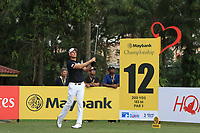 Robert Karlsson (SWE) in action on the 12th during Round 2 of the Maybank Championship at the Saujana Golf and Country Club in Kuala Lumpur on Friday 2nd February 2018.<br /> Picture:  Thos Caffrey / www.golffile.ie<br /> <br /> All photo usage must carry mandatory copyright credit (&copy; Golffile | Thos Caffrey)