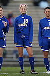 14 November 2014: South Dakota State's Sheridon Newberry. The University of North Carolina Tar Heels hosted the South Dakota State University Jackrabbits at Fetzer Field in Chapel Hill, NC in a 2014 NCAA Division I Women's Soccer Tournament First Round match. UNC won the game 2-0.