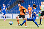 Brisbane Roar Forward Manuel Arana Rodriguez (L) in action during the AFC Champions League 2017 Group E match between Ulsan Hyundai FC (KOR) vs Brisbane Roar (AUS) at the Ulsan Munsu Football Stadium on 28 February 2017 in Ulsan, South Korea. Photo by Victor Fraile / Power Sport Images