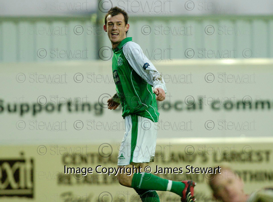 25/02/2006         Copyright Pic: James Stewart.File Name : sct_jspa11_falkirk_v_hibernian.STEVEN FLETCHER CELEBRATES AFTER HE SCORES HIBS FIFTH.........Payments to :.James Stewart Photo Agency 19 Carronlea Drive, Falkirk. FK2 8DN      Vat Reg No. 607 6932 25.Office     : +44 (0)1324 570906     .Mobile   : +44 (0)7721 416997.Fax         : +44 (0)1324 570906.E-mail  :  jim@jspa.co.uk.If you require further information then contact Jim Stewart on any of the numbers above.........