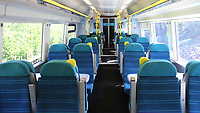 South Eastern Trains remain very quiet mid morning as carriage after carriage were empty on the Ashford International to London Victoria route. The Kent COVID-19 pandemic continues to have a severe impact throughout Kent on 21st May 2020