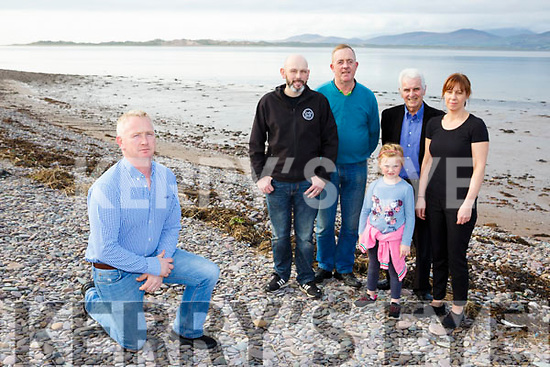 Cromane residents who are appealing for Cromane to join the Wild Atlantic Way David Eaton, Pat Casey, Grace Carey, David Rolt, Karena O'Sullivan