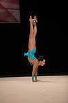 British Gymnastics Championships 2017<br /> Abigail Hanford<br /> Liverpool Echo Arena<br /> 30.07.17<br /> &copy;Steve Pope - Sportingwales