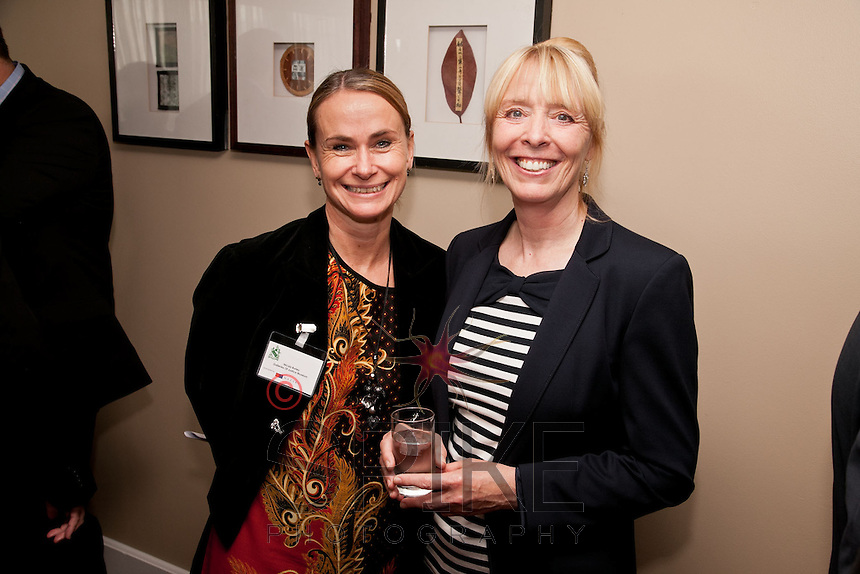 Nicola Burley (left) of the Galleries of Justice is pictured with Caroline Kew from the Cystic Fibrosis Trust