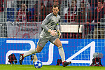 07.11.2018, Allianz Arena, Muenchen, GER, UEFA CL, FC Bayern Muenchen (GER) vs AEK Athen (GRC), Gruppe E, UEFA regulations prohibit any use of photographs as image sequences and/or quasi-video, im Bild Manuel Neuer (FCB #1) <br /> <br /> Foto © nordphoto / Straubmeier