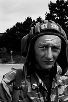 Gori, Georgia, August 14, 2008.Russian forces control and maintain order in Gori..Vitia, a Tank driver from Daghestan..
