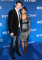 LOS ANGELES, CA, USA - JUNE 16: Actors Goran Visnjic and Halle Berry arrive at the Los Angeles Premiere Of CBS Films' 'Extant' held at the California Science Center on June 16, 2014 in Los Angeles, California, United States. (Photo by Xavier Collin/Celebrity Monitor)